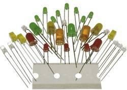 Asortima LED diod, rdeče, zelene, rumene Kemo S036
