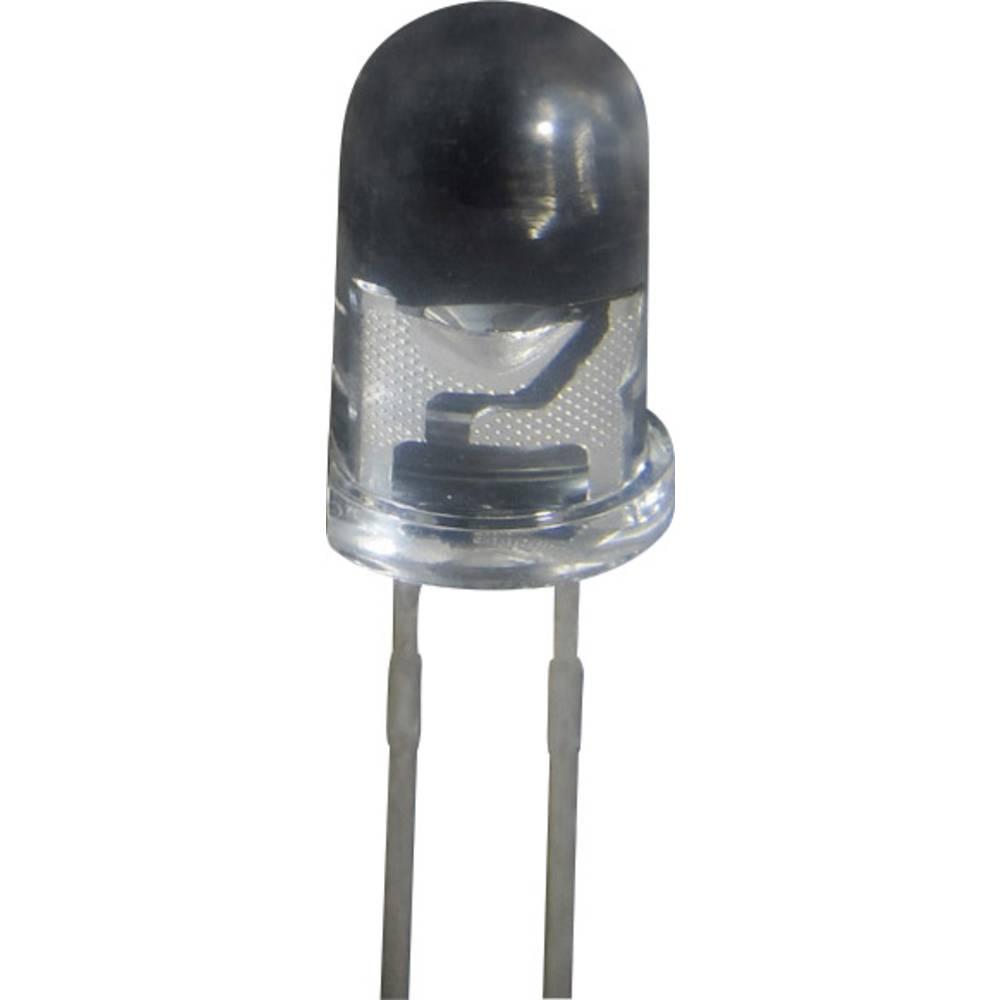 Ožičena LED dioda, rdeča, okrogla 5 mm 200 mcd 30 ° 20 mA 2 V GL 5 R
