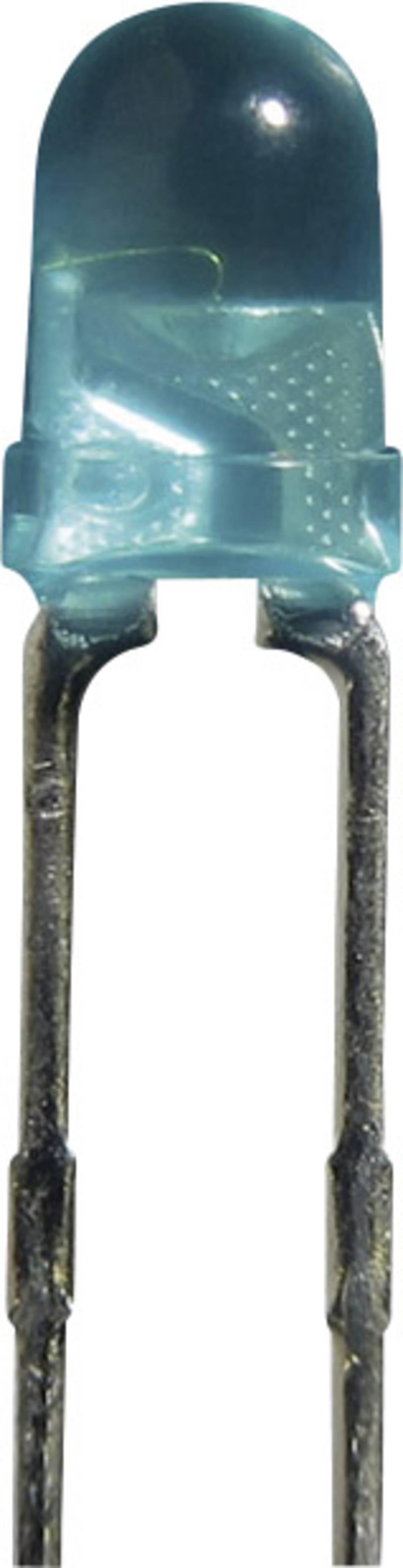 Ožičana LED dioda, plava, okrugla 3 mm 60 ° 7.5 mA