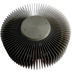 Søjlekølelegeme (Ø x H) 121 mm x 55 mm QuickCool QL-12156AL-40S