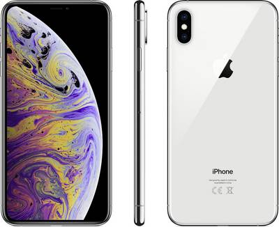 Apple iPhone XS Max 256 GB Silver cheapest retail price