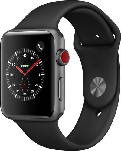 Apple Watch Sport Series 3 42 mm Aluminium Spaceship grey cheapest retail price