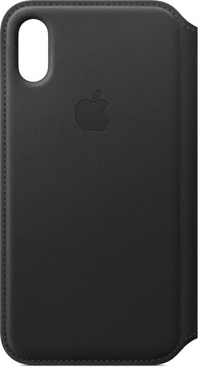 Image of Apple Leather Folio Case for iPhone XS
