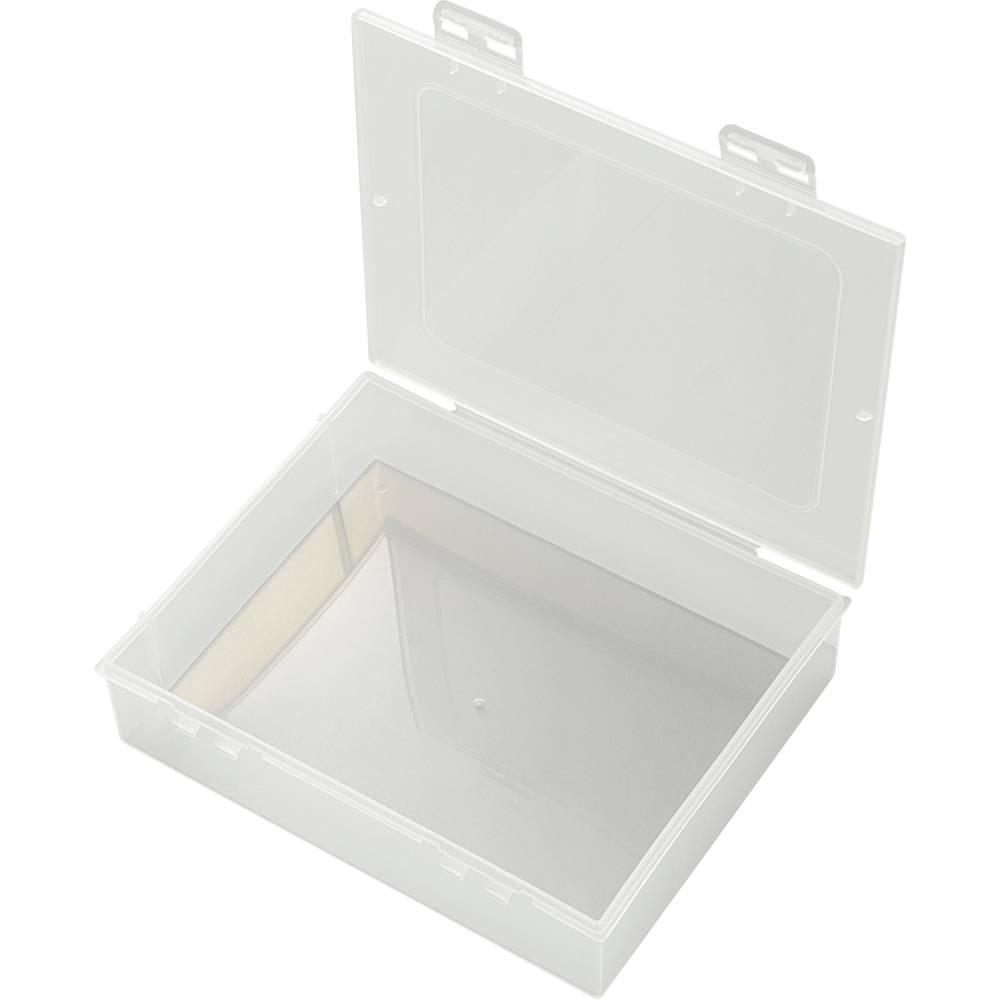 Sortirna škatla (D x Š x V) 191 x 157 x 47 mm E-112 št. predalov: 1 fiksna pregraditev