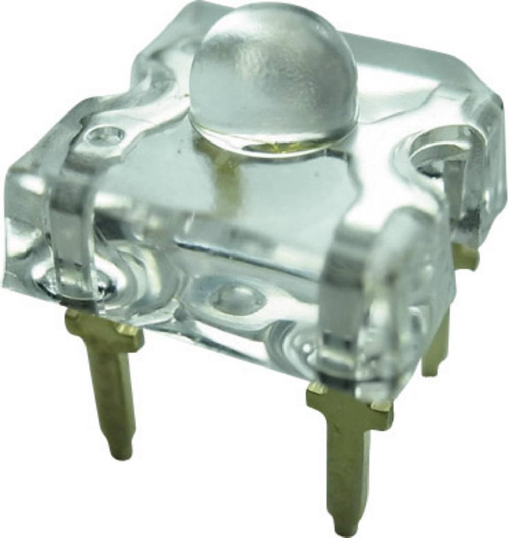 Ožičena LED dioda, rdeča, pravokotna 7.6 x 7.6 mm 50 ° 50 mA 2.4 V Yoldal YSF-R319HY