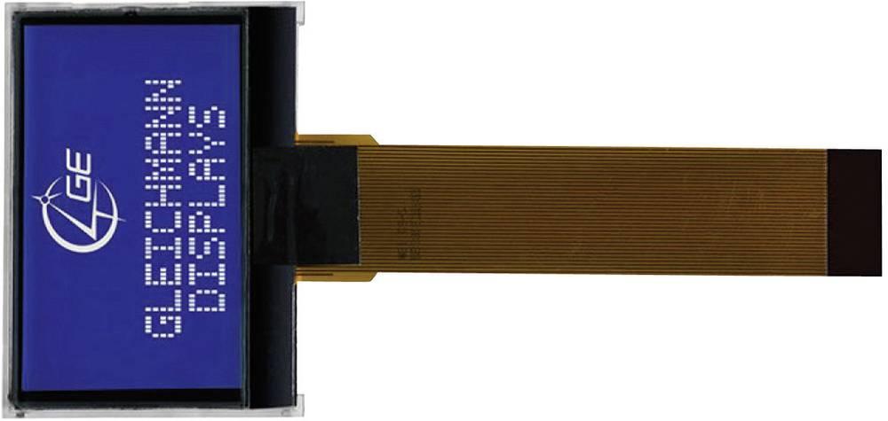LCD zaslon, bela, modra (Š x V x G) 55.2 x 39.8 x 6.5 mm Gleichmann GE-O12864C2-TMI/R