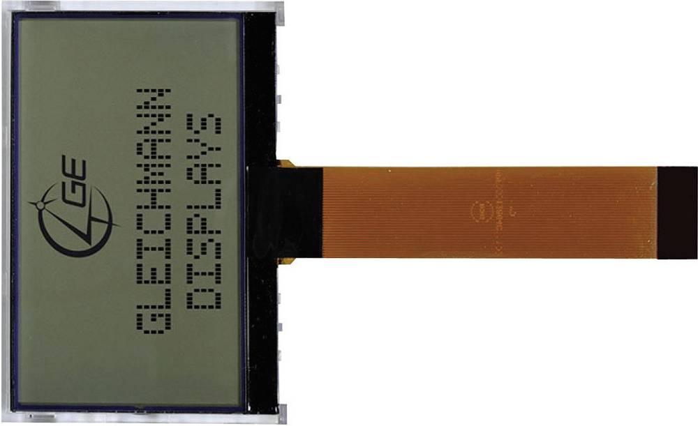 LCD zaslon, bela, modra (Š x V x G) 80 x 54 x 10.2 mm Gleichmann GE-O12864D3-TMI/R