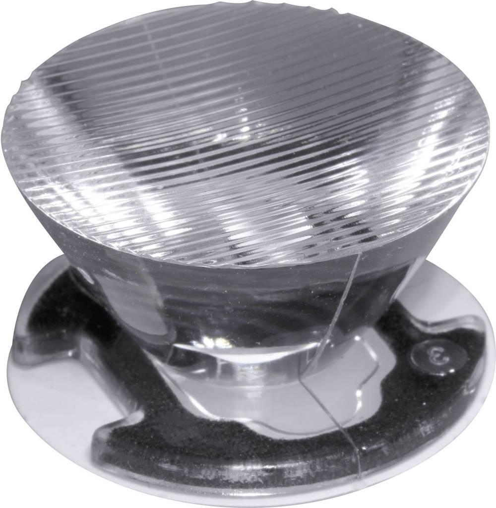 LED optika, čista, rebrasta prozorna 10 °, 44 ° št. LED diod (maks.): 1 za LED: Seoul Semiconductor® Z5 Ledil CA11389_EMILY-