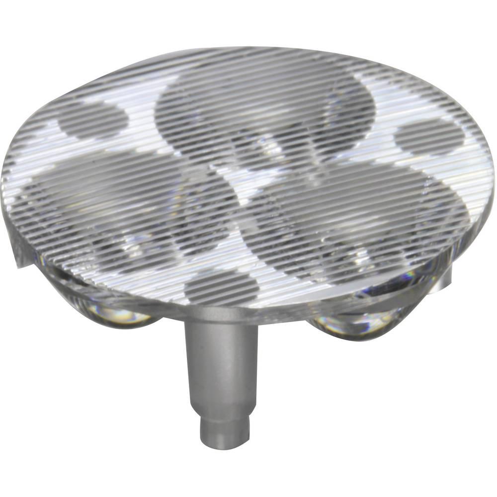 LED-optik Klar, Riflet Transparent 17 °, 46.6 ° Antal LED (max.): 3 Til LED: Luxeon® Rebel eller Seoul Semiconductor® Z5 Carclo