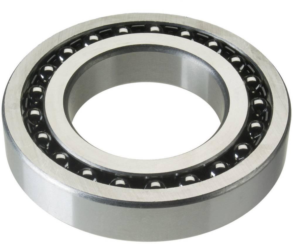 Prilagodljivi kroglični ležaj FAG 1219-K-M-C3 premer vrtine 95 mm zunanji premer 170 mm št. vrtljajev (maks.) 6000 U/min