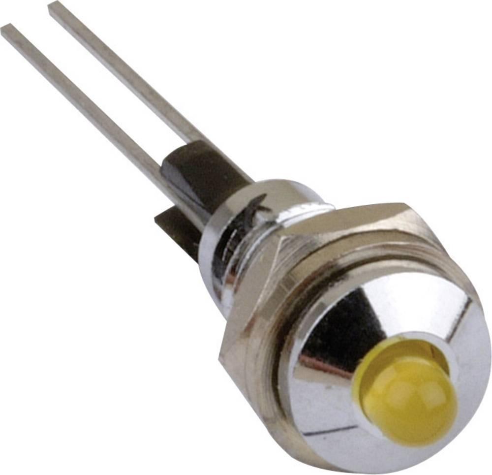 LED podnožje, kovinsko, primerno za LED 3 mm vijačna pritrditev Mentor 2663.1001