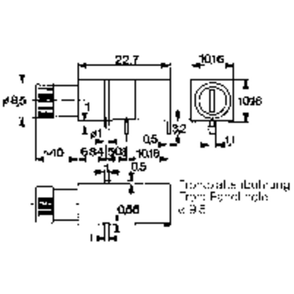 Mentor 1906.1031 Fuse holder Suitable for Micro fuse 5 x