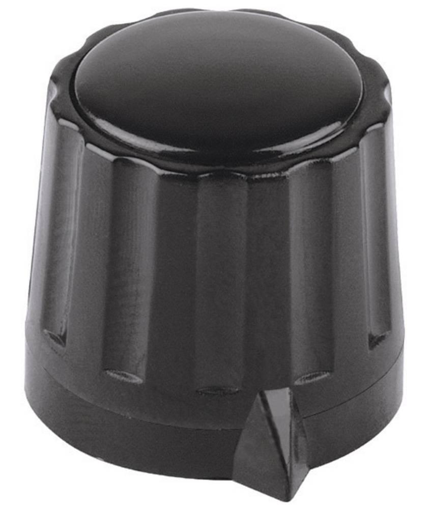 Mentor Gumb serije 36 KNOEPFEserije 36 crna promjer osi 6mm 334.6