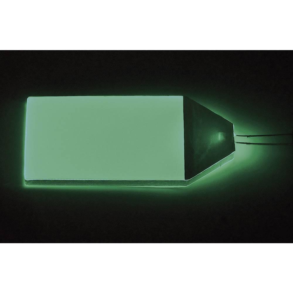 LED osvetlitev ozadja, zelena (D x Š x V) 66 x 32 x 3.5 mm LP-66-32-GN