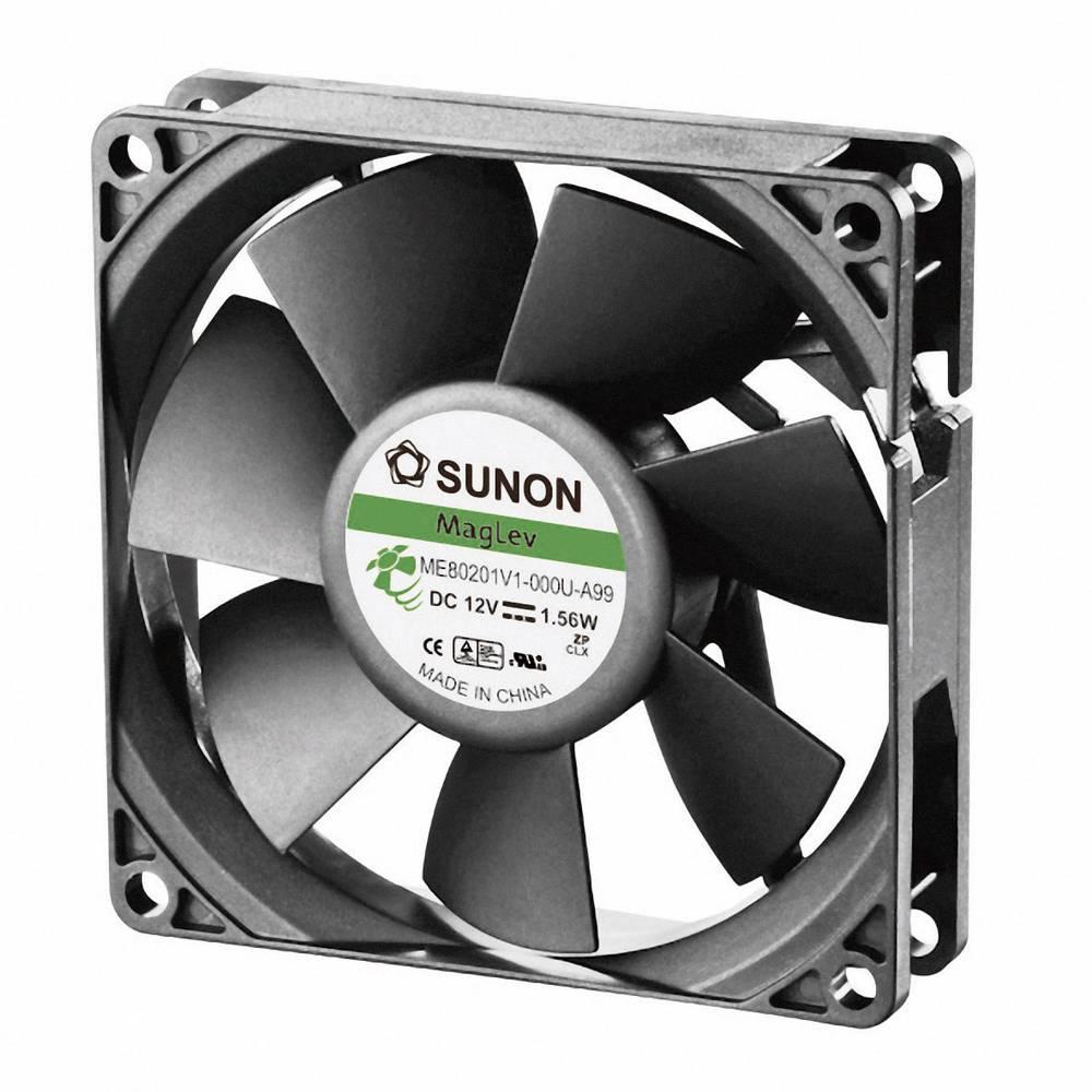 Aksialni ventilator 12 V/DC 61.16 m/h (D x Š x V) 80 x 80 x 20 mm Sunon ME80201V1-000U-A99