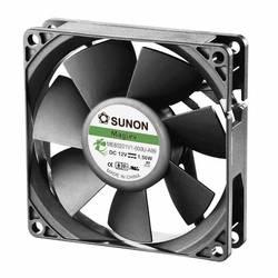 Aksial ventilator 12 V/DC 61.16 m³/h (L x B x H) 80 x 80 x 20 mm Sunon ME80201V1-000U-A99