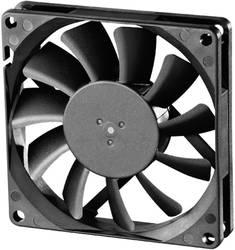 Aksial ventilator 12 V/DC 62.86 m³/h (L x B x H) 80 x 80 x 15 mm Sunon EE80151S1-000U-A99