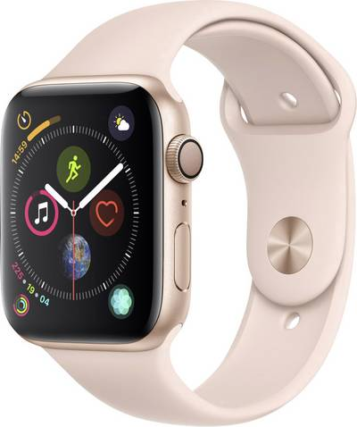 Apple Watch Sport Series 4 44 mm Aluminium Gold Sport strap Sand pink cheapest retail price