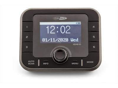 Image of Caliber Audio Technology HDAB10 DAB+ Radio adapter AUX, Bluetooth, DAB+, FM Black