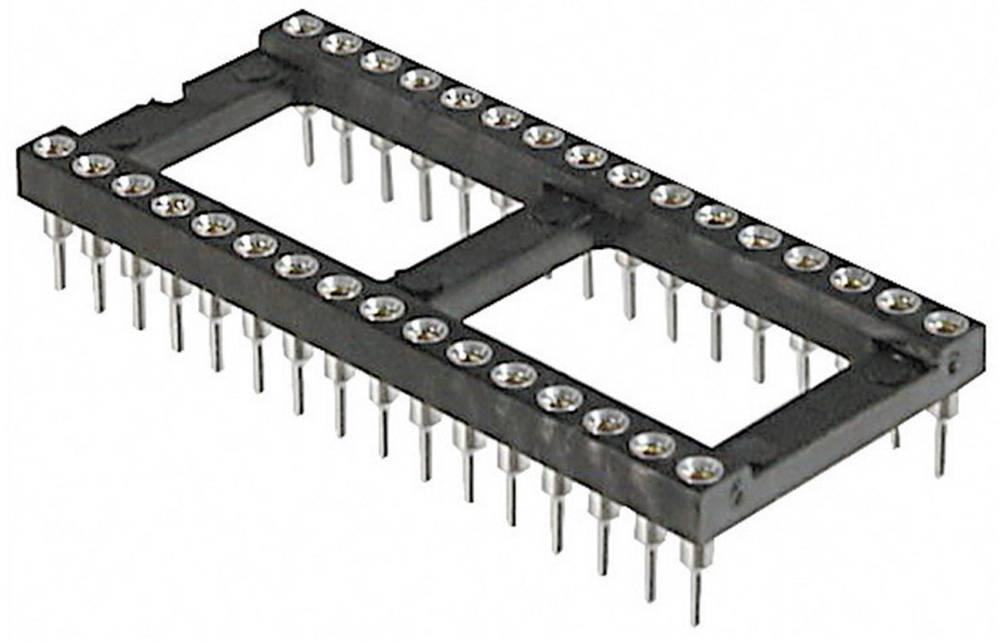 IC podnožje, raster: 7.62 mm št. polov: 18 TRU Components AR 18 HZL-TT natančni kontakti 1 kos