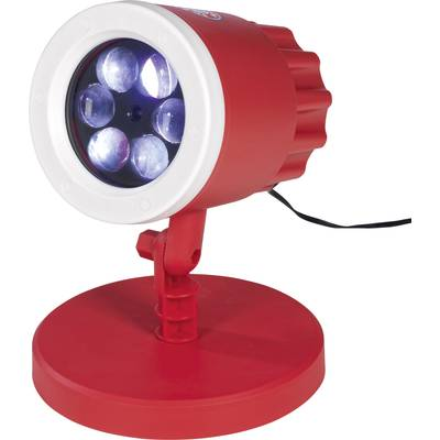 Image of 03976 LED decorative light LED (monochrome) Red/white