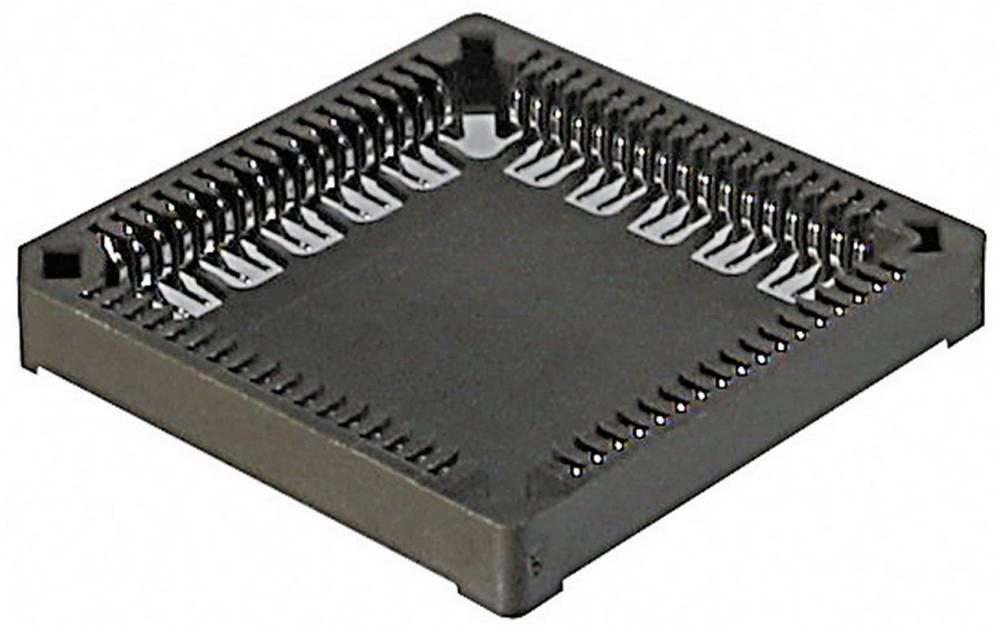 PLCC-fatning Rastermål: 12.7 mm Poltal: 44 ASSMANN WSW 1 stk