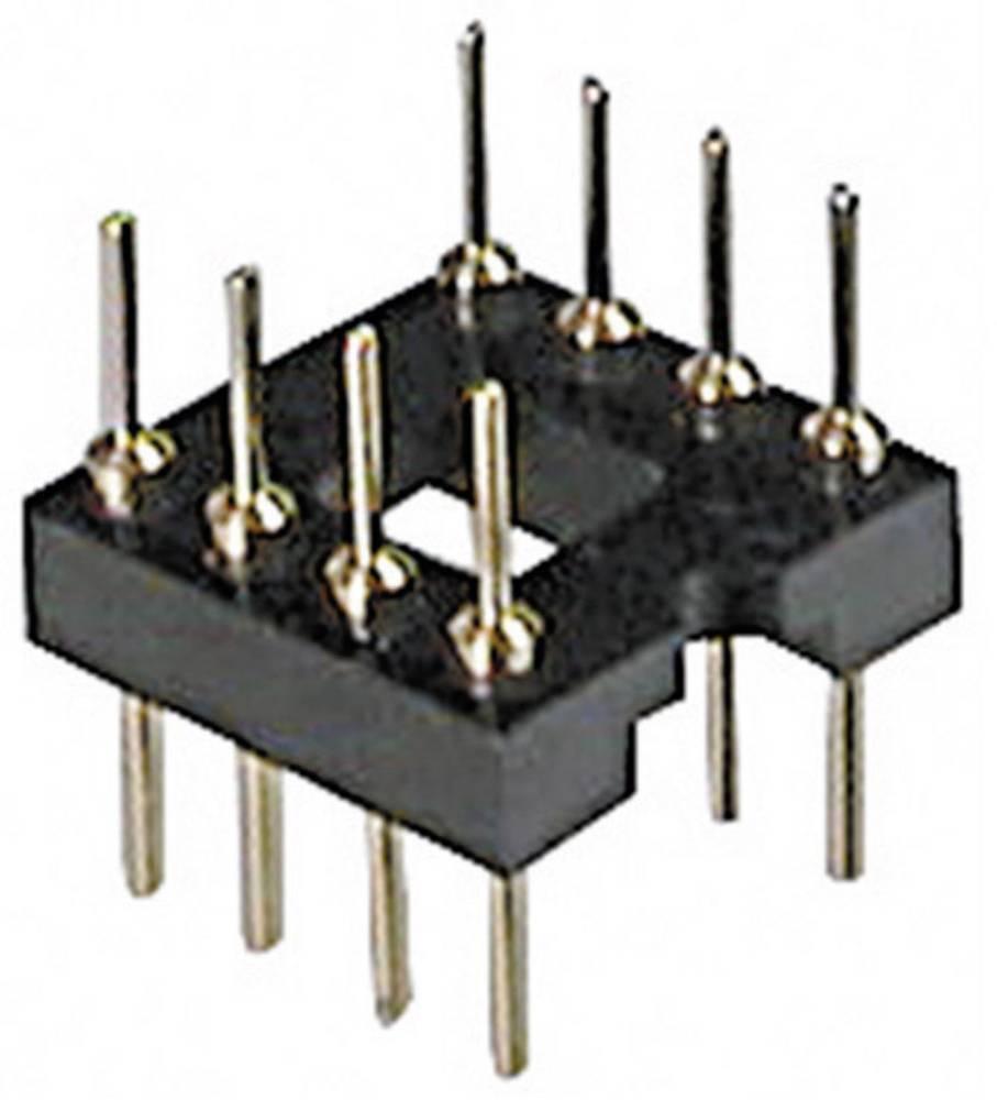 Adaptersko IC podnožje 15.24 mm št. polov: 28 ASSMANN WSW AR 28-ST/T 1 kos