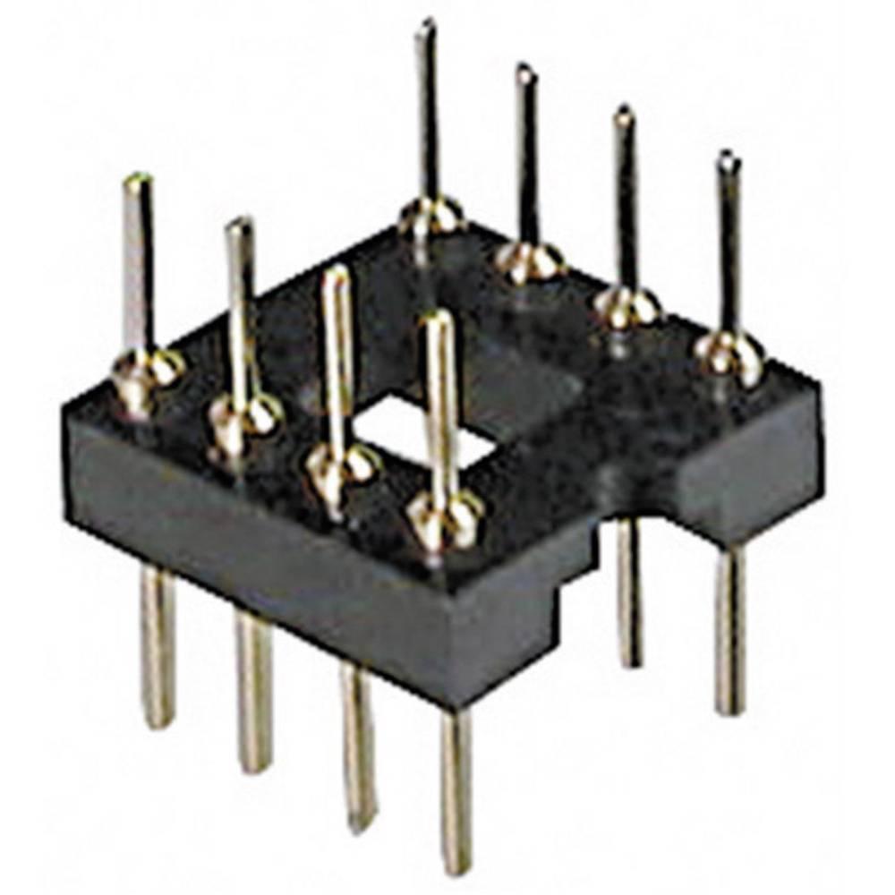 Adaptersko IC podnožje, raster: 15.24 mm št. polov: 24 TRU Components AR 24-ST/T 1 kos