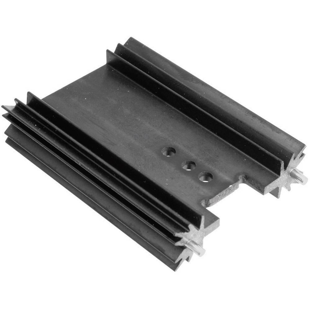 Profilno hladilno telo 6.2 K/W (D x Š x V) 50.8 x 45 x 11.94 mm TO-220 TOP-3 SOT-32 TRU Components TC-V7466Y-203