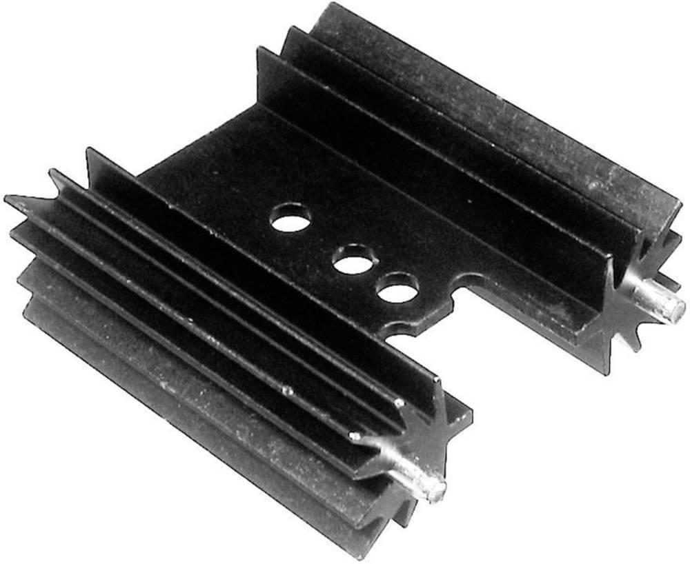 Profilno hladilno telo 9 K/W (D x Š x V) 50.8 x 35 x 12.7 mm TO-220 TOP-3 SOT-32 TRU Components TC-V7477Y-203