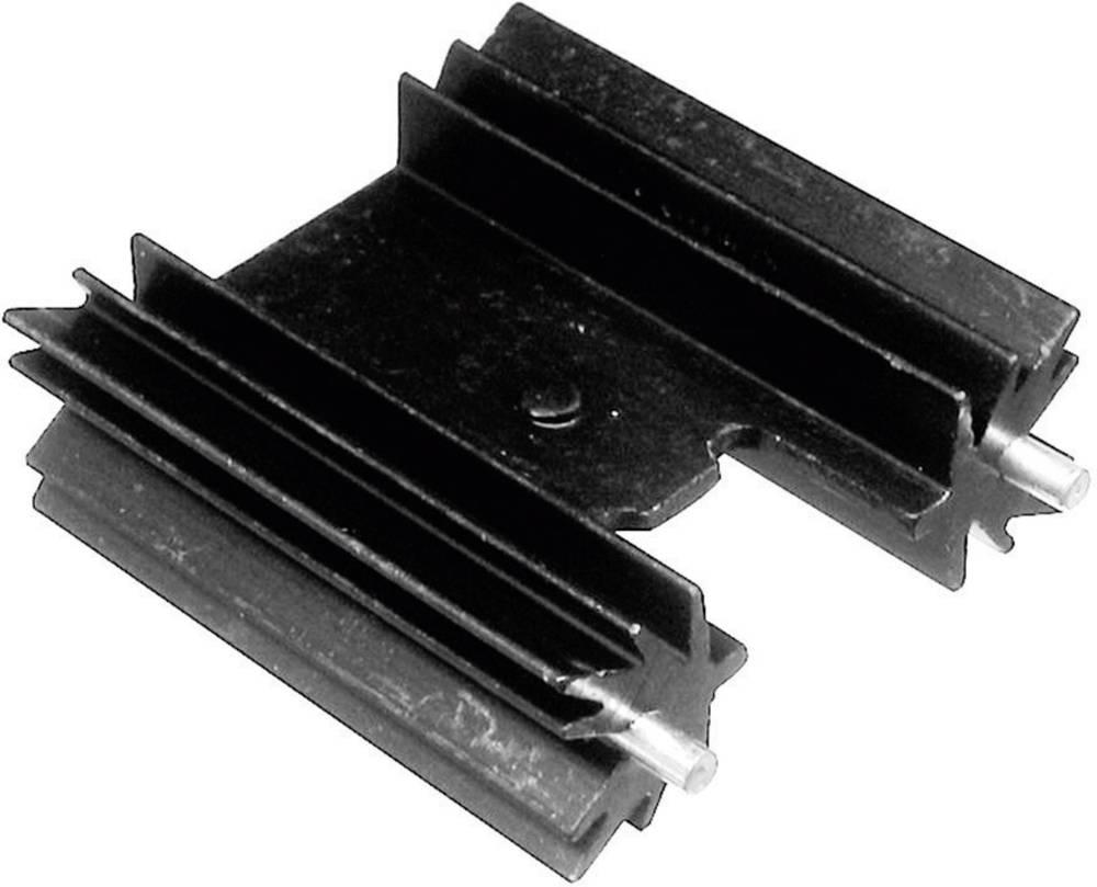 Profilkølelegeme 14 K/W (L x B x H) 25.4 x 35 x 12.7 mm TO-220 , TOP-3, SOT-32 ASSMANN WSW V7477WC