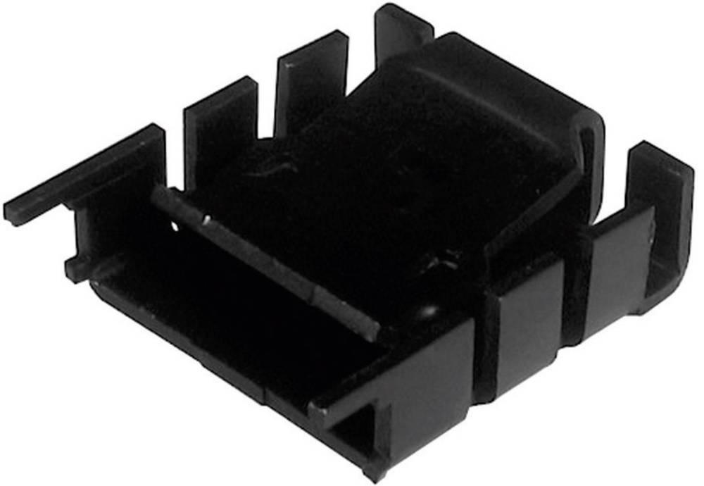 Hladilno telo 18 K/W (D x Š x V) 25.4 x 25 x 8.5 mm TO-220 TRU Components TC-V8510B-203
