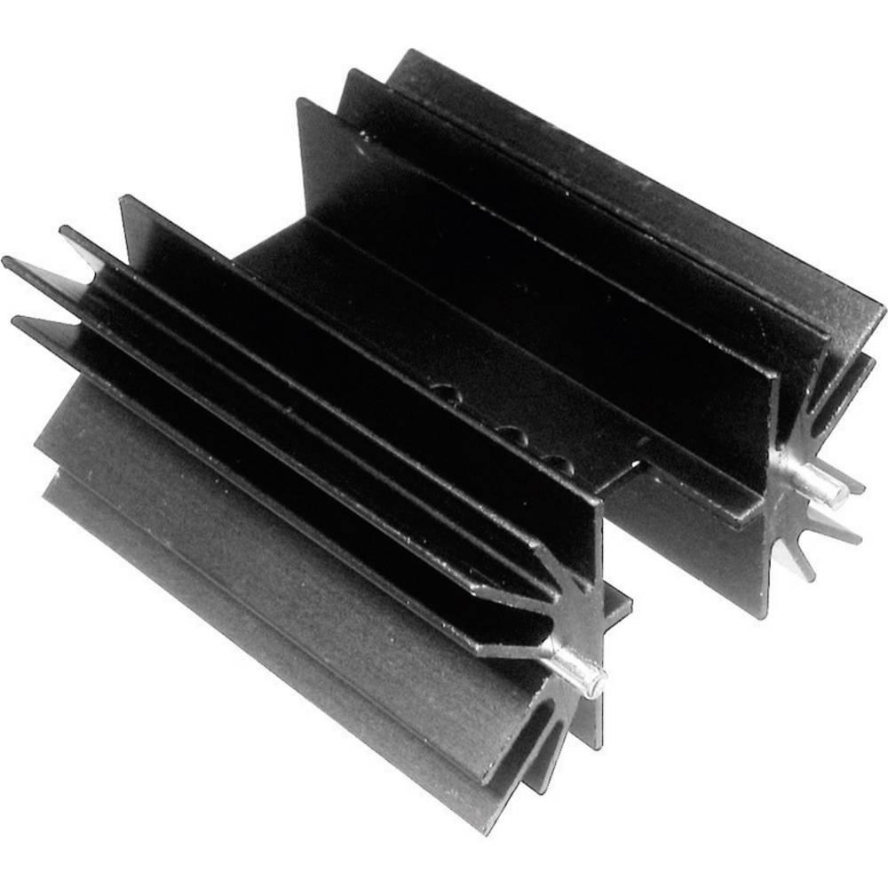 Profilno hladilno telo 5 K/W (D x Š x V) 38.1 x 41.6 x 25 mm TO-220 TOP-3 SOT-32 TRU Components TC-V8511X-203