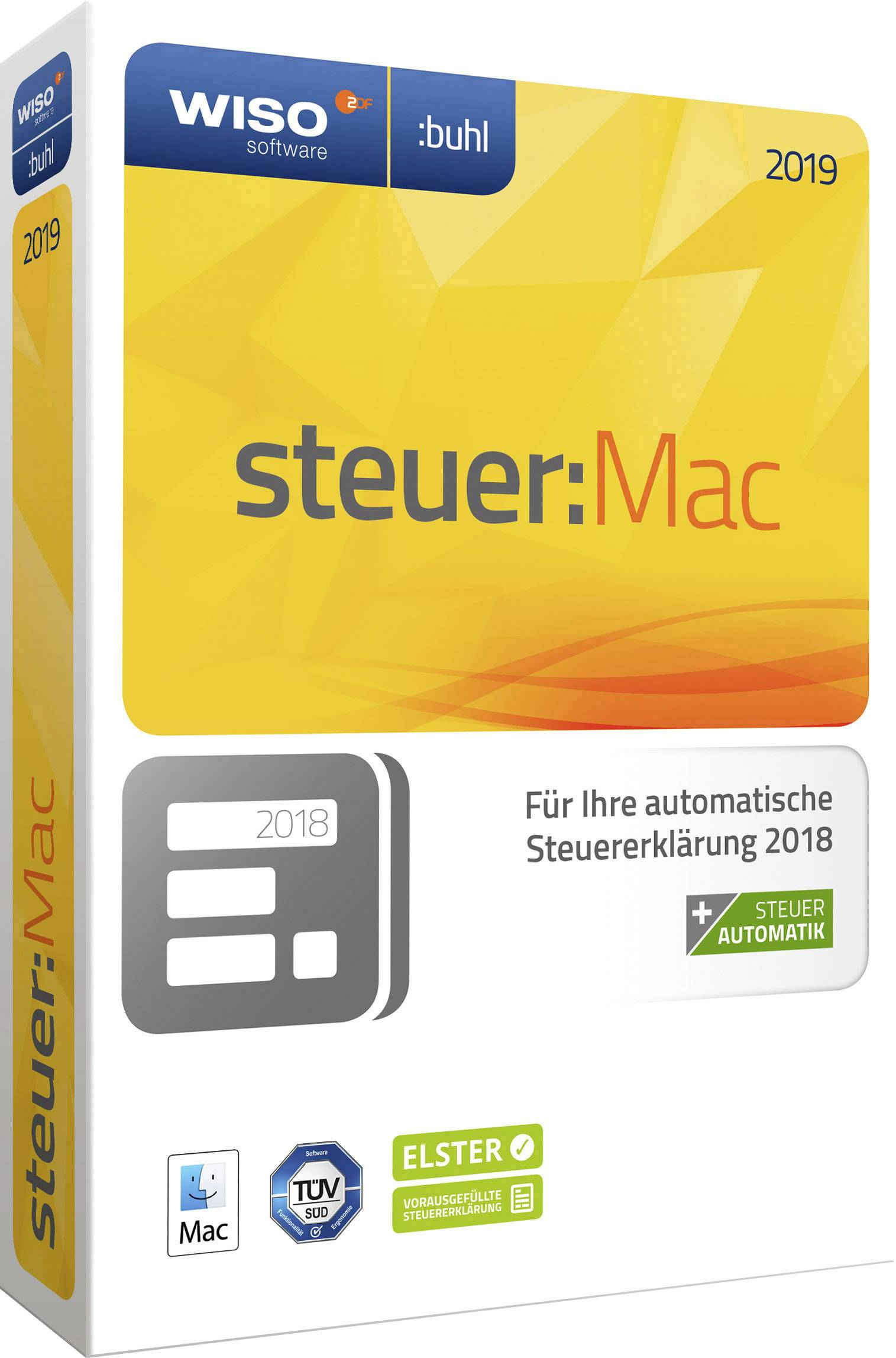 Wiso Steuer Mac 2019 Full Version 1 License Windows