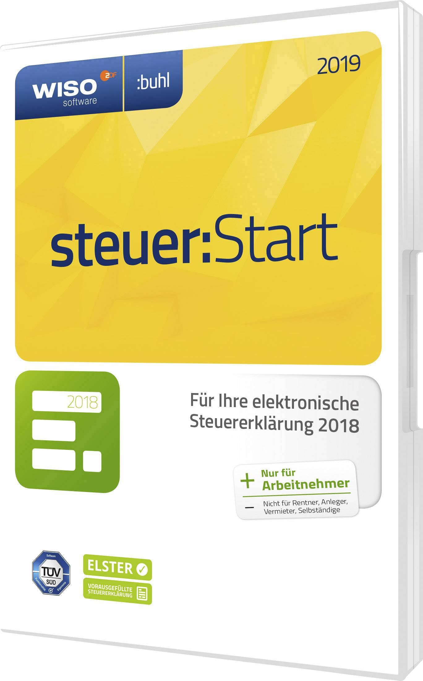 Wiso Steuer Start 2019 Full Version 1 License Windows