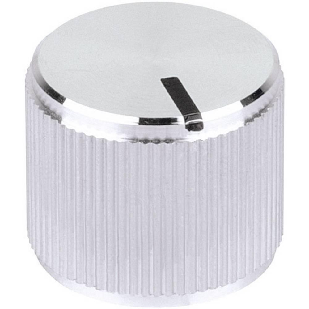 Mentor Visoko kvalitetni metalni gumb svjetleći promjer osi6mm 5552.6612
