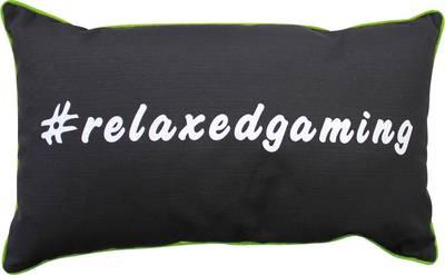 Image of Cushion GAMEWAREZ #relaxedgaming TOXIC Black, Green