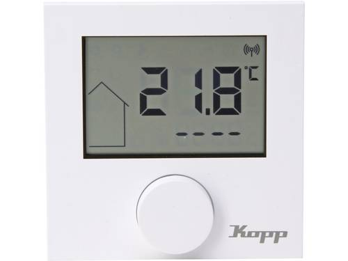 Kopp Free Control Thermostaat Zuiver wit (RAL 9010)