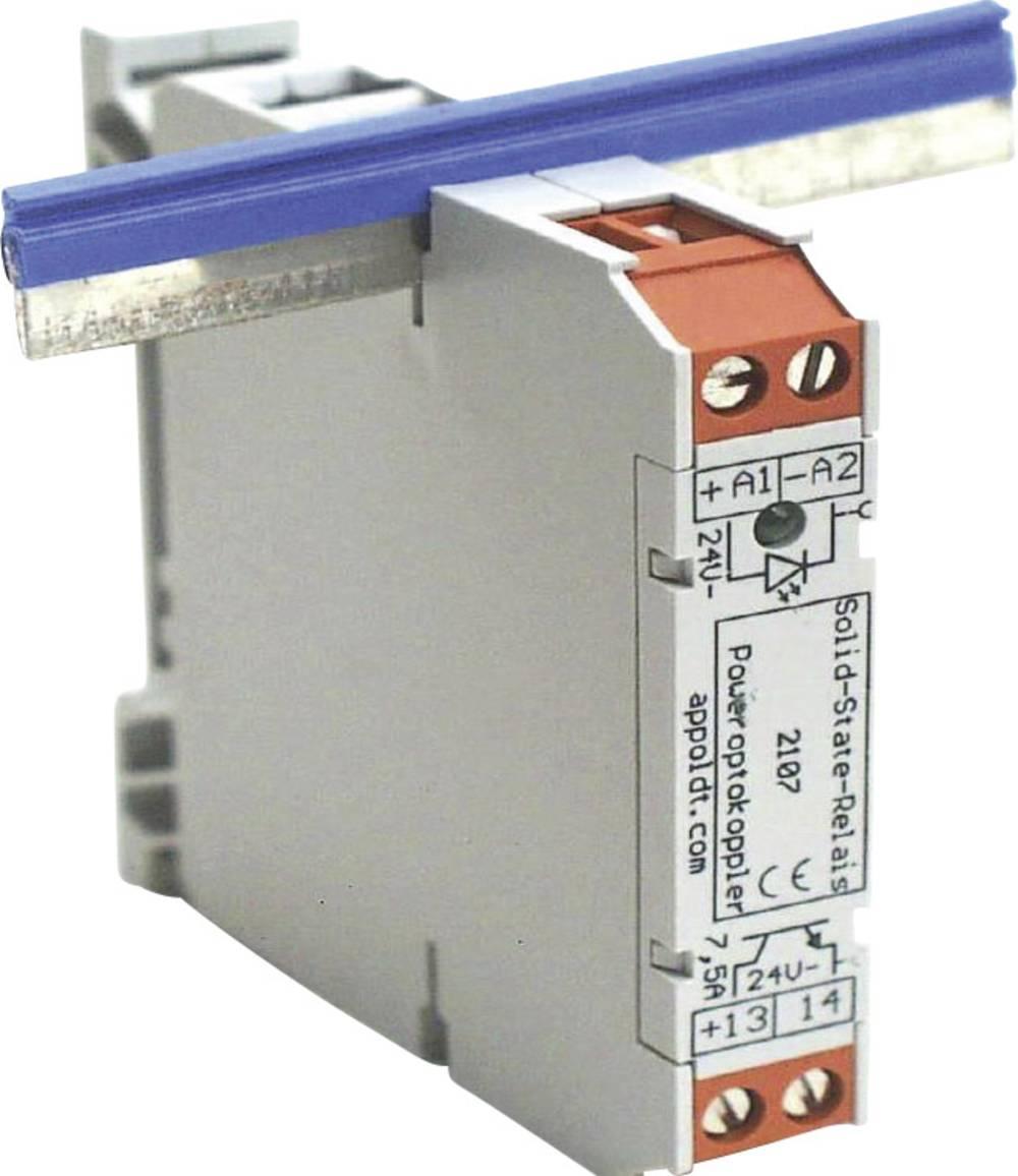 Halvlederrelæ 1 stk Appoldt POK24/3 Last-Strøm (maks.): 3 A Koblingsspænding (max.): 30 V/DC