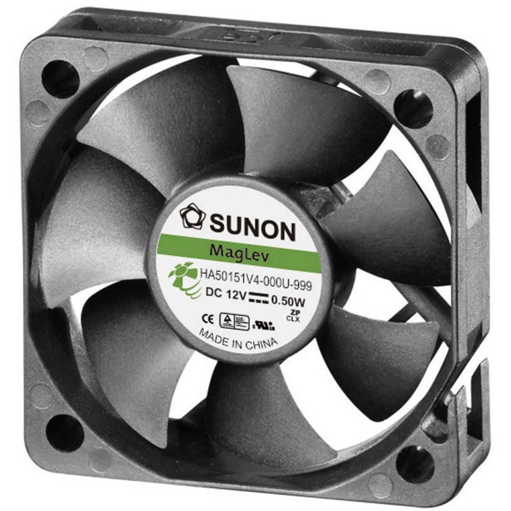 Aksial ventilator 12 V/DC 13.08 m³/h (L x B x H) 50 x 50 x 15 mm Sunon HA50151V4-0000-999