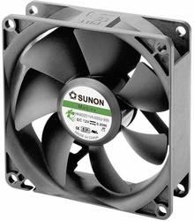 Aksial ventilator 12 V/DC 40.26 m³/h (L x B x H) 80 x 80 x 25 mm Sunon HA80251V4-0000-999