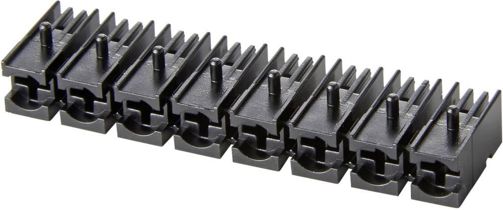 LED-fatning Plast Passer til LED 3 mm LEISTENGEH. 8-FACH