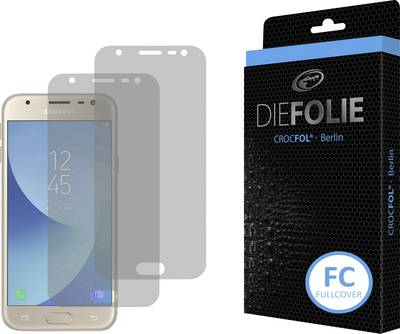 Search and compare best prices of Crocfol Die Folie Fullcover Film Compatible with (mobile phones): Samsung Galaxy J3 (2017) in UK