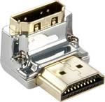 Lindy CROMO HDMI Adapter, 90° 'Down'