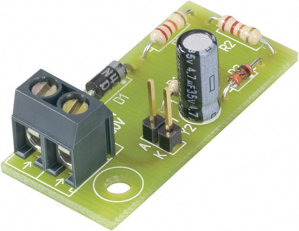 LED predspojna tiskana pločica 230 V/AC 2 mA Conrad Components 230LV02