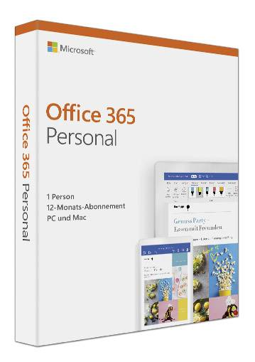 Microsoft Office 365 Personal Full Version 1 License