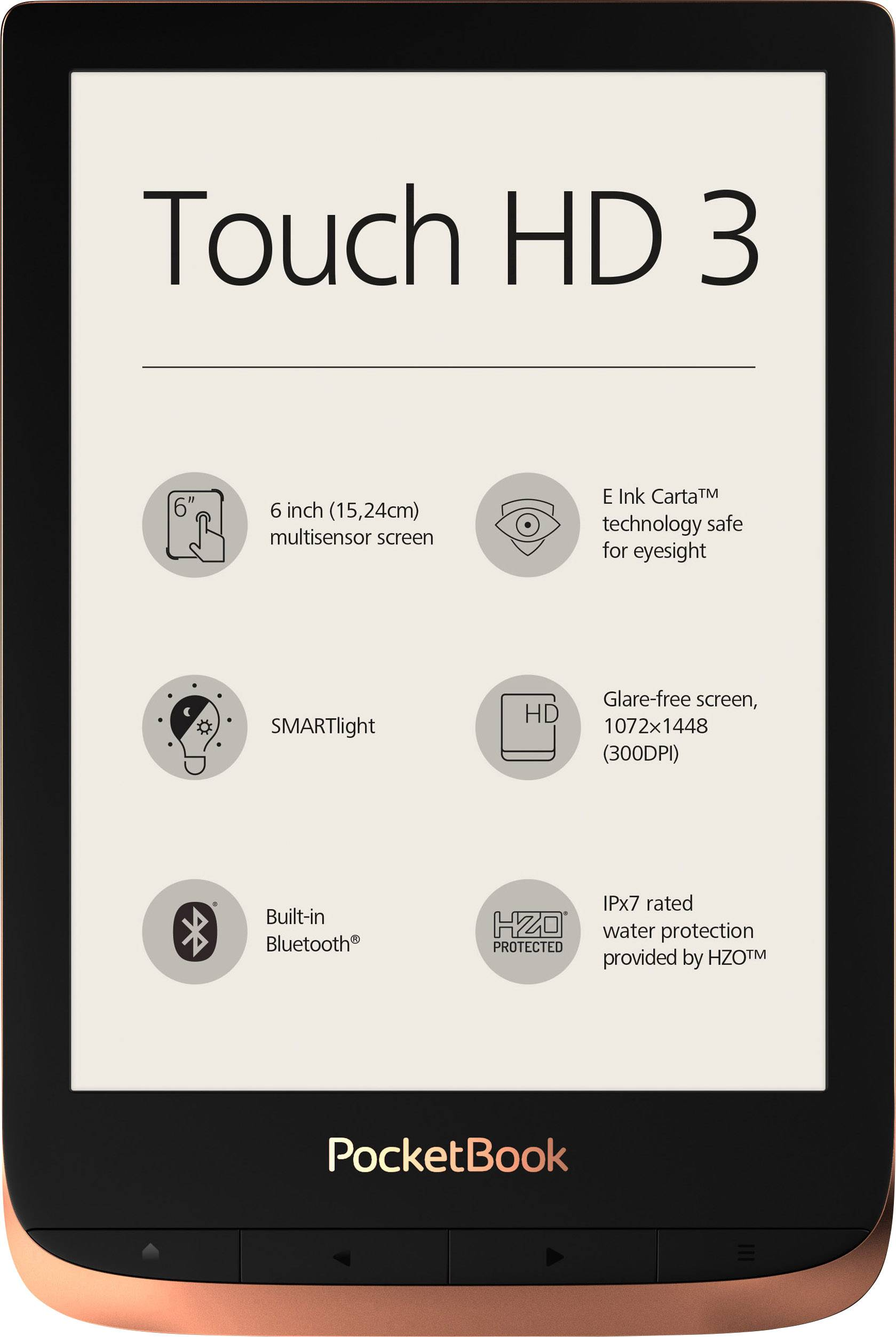 PocketBook Touch HD 3 eBook reader 15 2 cm (6