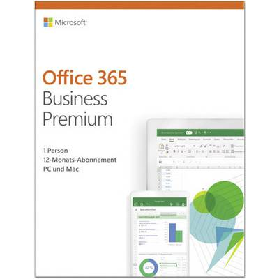 Image of Microsoft Office 365 Business Premium Full version, 1 license Windows, Mac OS, iOS, Android Office package