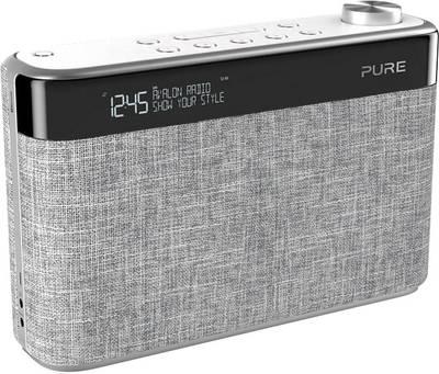 Image of Pure Avalon N5 FM Portable radio AUX, Bluetooth, FM Light grey
