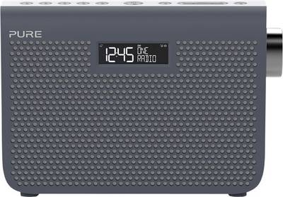 Image of Pure One Midi Series 3s FM Portable radio AUX, FM Grey
